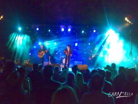 Country festival v Ardeche - main stage.  » Click to zoom ->